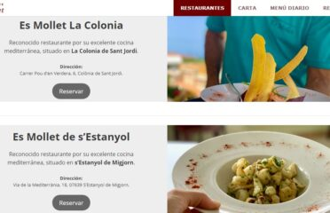 Restaurante Es Mollet de La Colònia