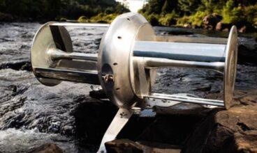 Hidroturbina de río. Una turbina capaz de alimentar a una casa