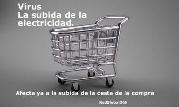 Virus La subida de la electricidad afecta ya a la subida de la cesta de la compra.